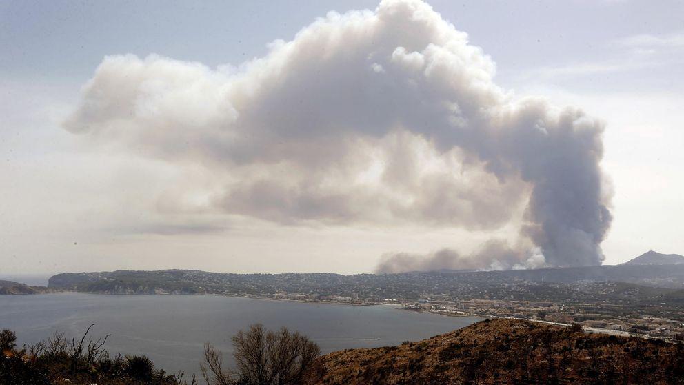 La Guardia Civil busca un grupo organizado por el incendio de Jávea