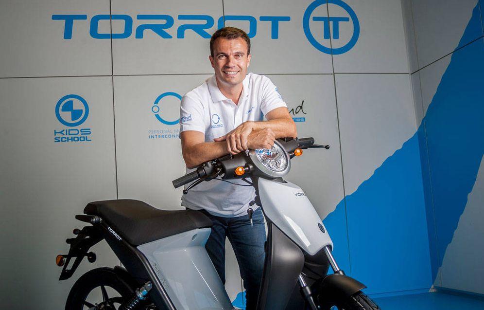 Foto: Iván Contreras, CEO de Torrot. (Foto: Torrot)