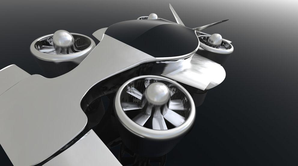 Foto: Imagen virtual del prototipo HeliKar
