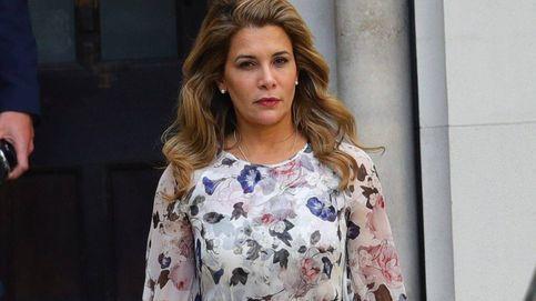 Haya de Jordania, a 'lookazo' diario en la pasarela del Alto Tribunal de Londres