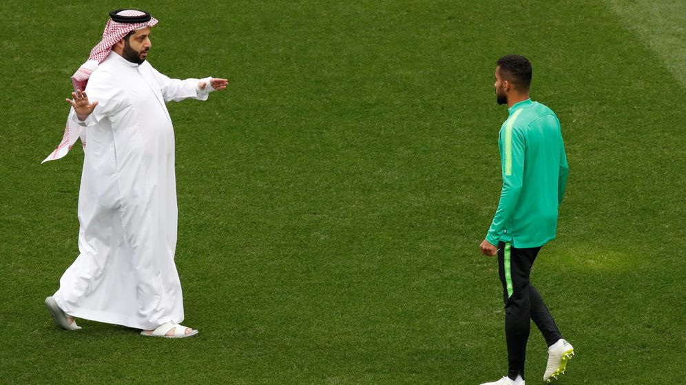 Foto: Turki Al-Seikh, ministro de deportes de Arabia Saudí. (Reuters)