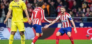 Post de El día que Joao Félix reapareció y el Atlético remontó al Villarreal