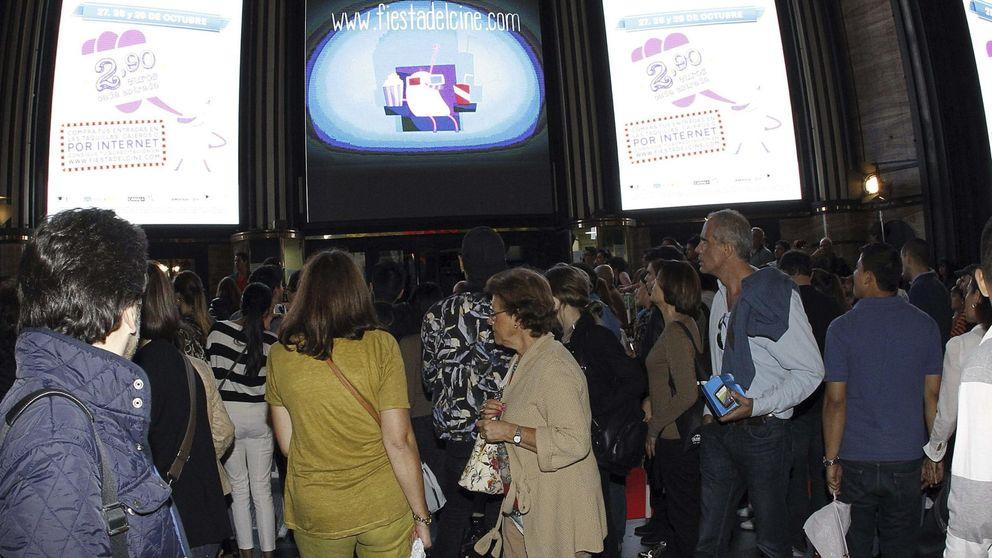 La Fiesta del Cine bate récords con 2,2 millones de espectadores