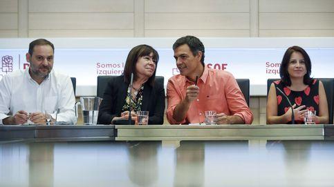 Sánchez y Rajoy pactan una postura común frente a la ley de desconexión