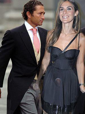 Álvaro Fuster y la ex de Baute, una pareja feliz