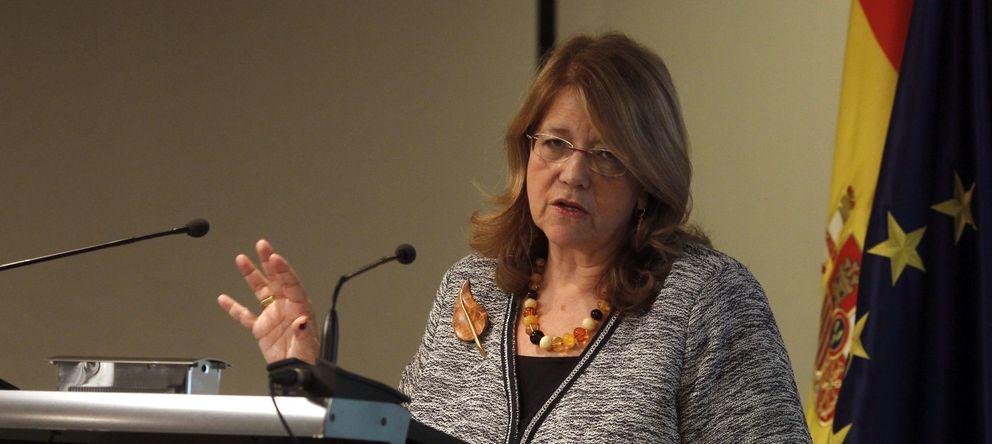 Foto: Elvira Rodríguez, presidenta de la Comisión Nacional del Mercado de Valores (CNMV). (Efe)
