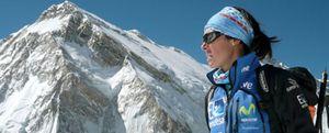 Foto: Edurne Pasaban: El dopaje en la montaña sólo haría que nos muriésemos congelados