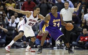Kobe supera los 32.000 puntos en la NBA y roza la marca de Jordan
