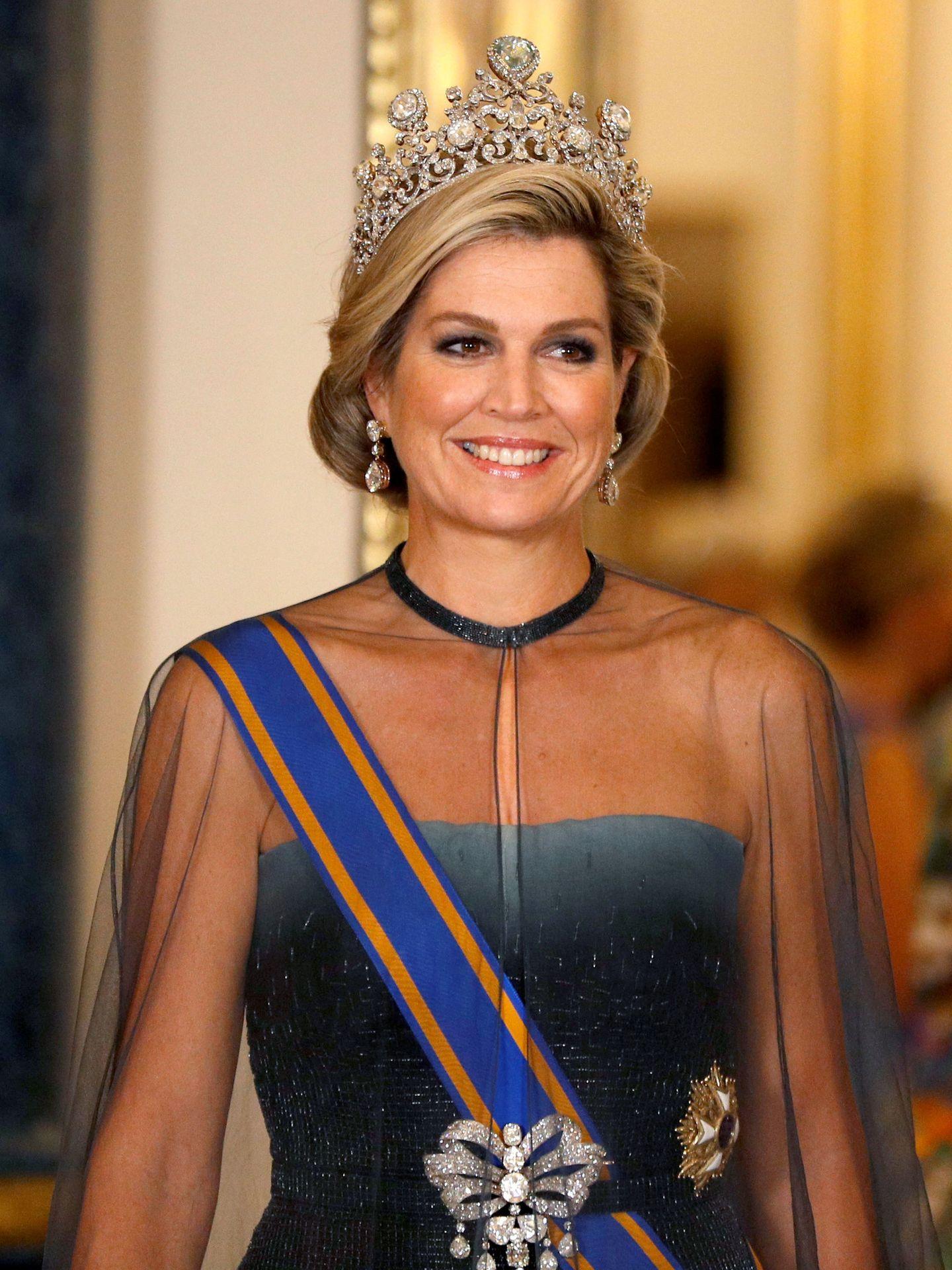 La reina de Holanda. (Reuters)