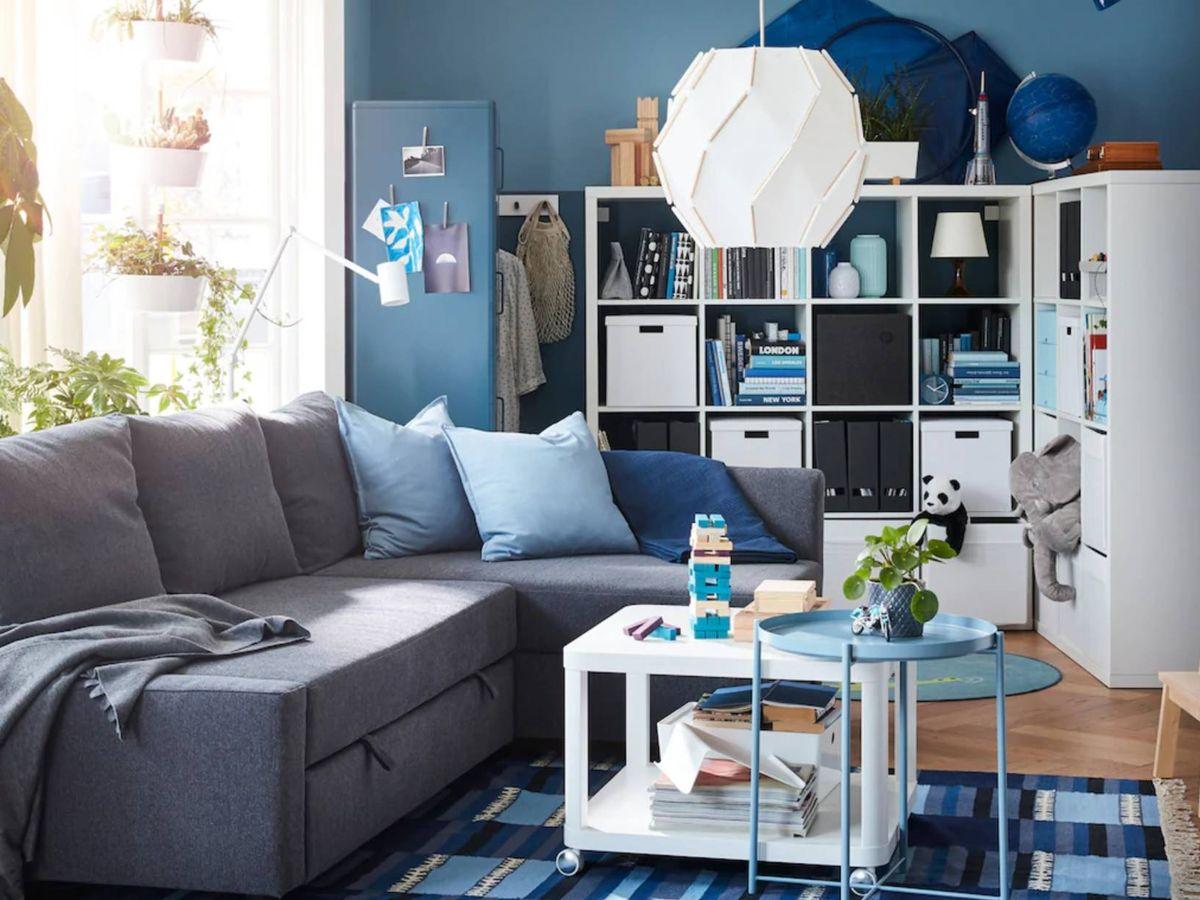 Foto: Ikea es una de las firmas ideales para decorar espacios pequeños. (Cortesía)