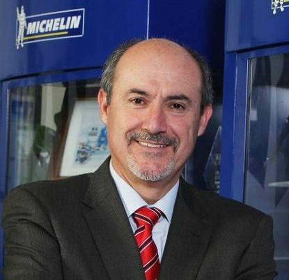 Foto: José Rebollo, actual presidente de Michelin España y Portugal. (EC)