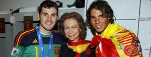 Foto: Nadal y la Selección reciben el Laureus