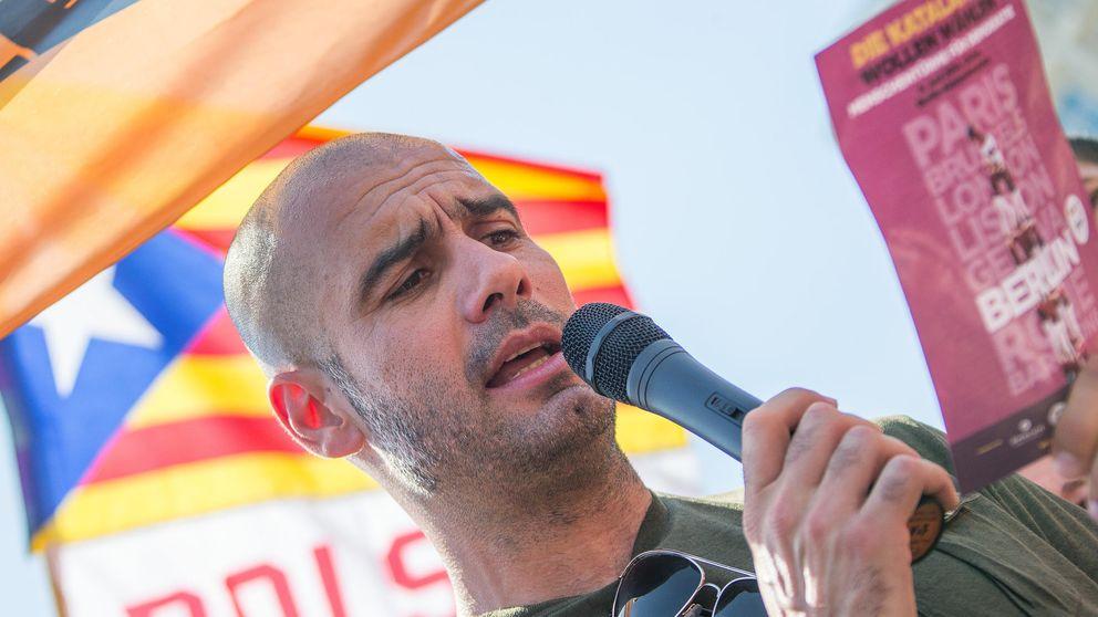 Pep Guardiola cerrará la lista unitaria de Convergencia y Esquerra