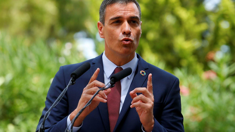 Pedro Sánchez en Mallorca para su audiencia con el Rey. (Reuters)