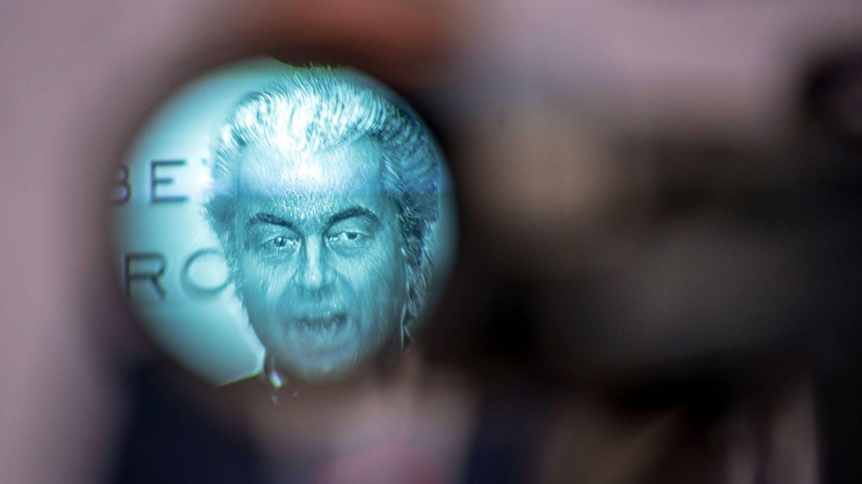 Foto: Geert Wilders en una conferencia de líderes de extrema derecha. (EFE)