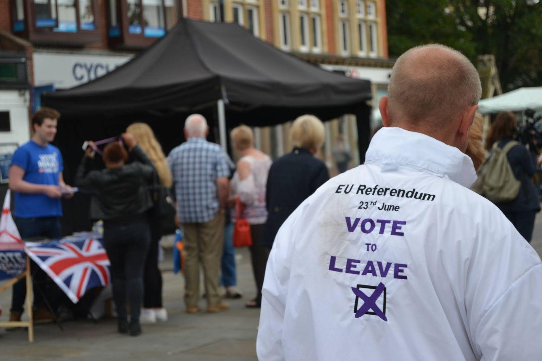 Foto: Imagen del mercado del municipio de Romford, el lugar donde el euroescepticismo late con más fuerza en todo el Reino Unido (Foto: Eugenio Blanco).