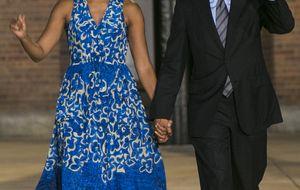 La promesa saludable de Michelle Obama: Voy a dejar las patatas