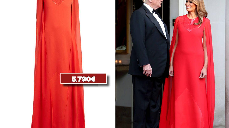 Vestido de Givenchy. (Cortesía)
