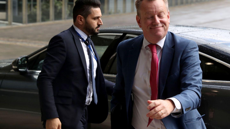 El negociador británico del Brexit, David Frost. (Reuters)