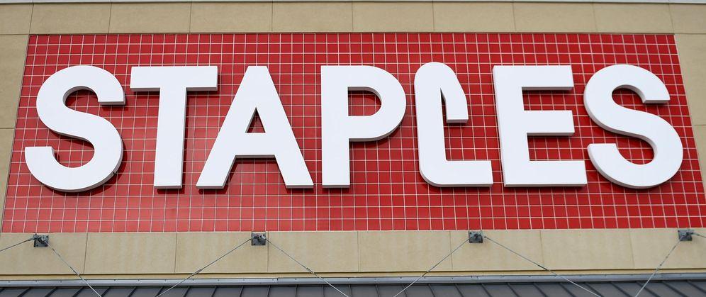 Foto: Logo de una tienda de Staples en Auston, Texas (EEUU). (Reuters)