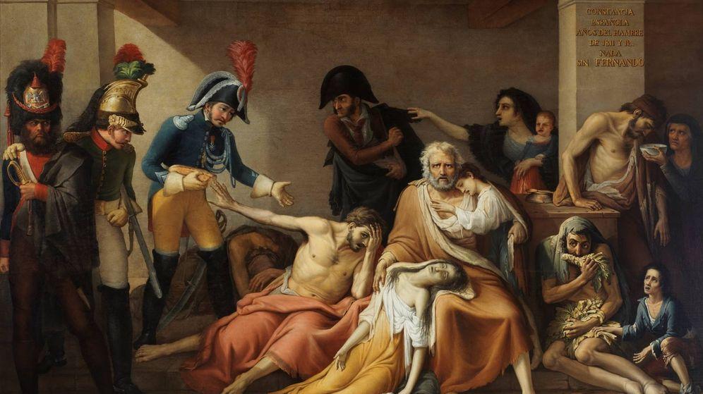 Foto: 'El año del hambre de Madrid', de José Aparicio (1818).