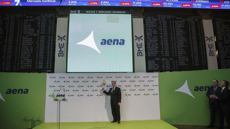 El gran vuelo de Aena: los fondos que más se benefician