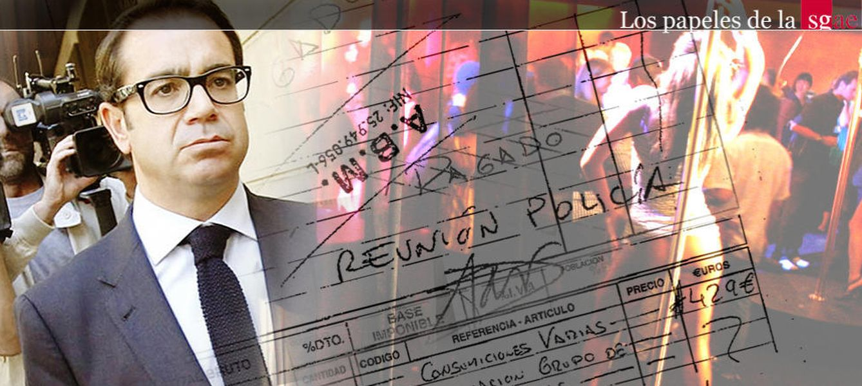 Foto: Pedro Farré, exjefe de Gabinete de Eduardo Teddy Bautista la SGAE (El Confidencial)