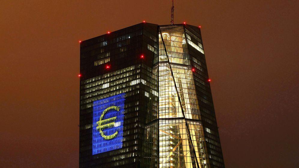 Foto: El Banco Central Europeo, en Fráncfort. (Reuters)