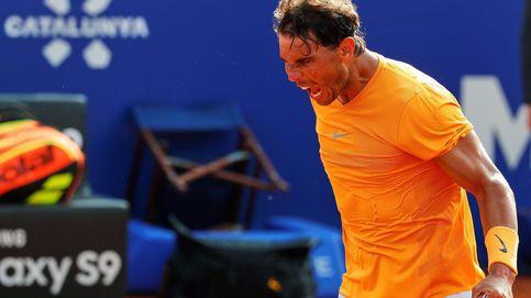 El contrato tácito de Nadal con Barcelona, la grada anima y él arrasa a sus rivales