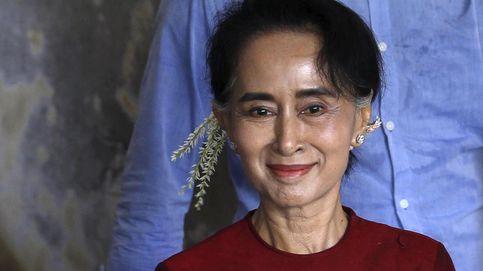 La Nobel de la Paz Suu Kyi, posible ganadora de las elecciones de Birmania