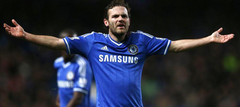 Foto: Mata, el décimo jugador con mayor valor de mercado del mundo, no tiene hueco en el Chelsea.