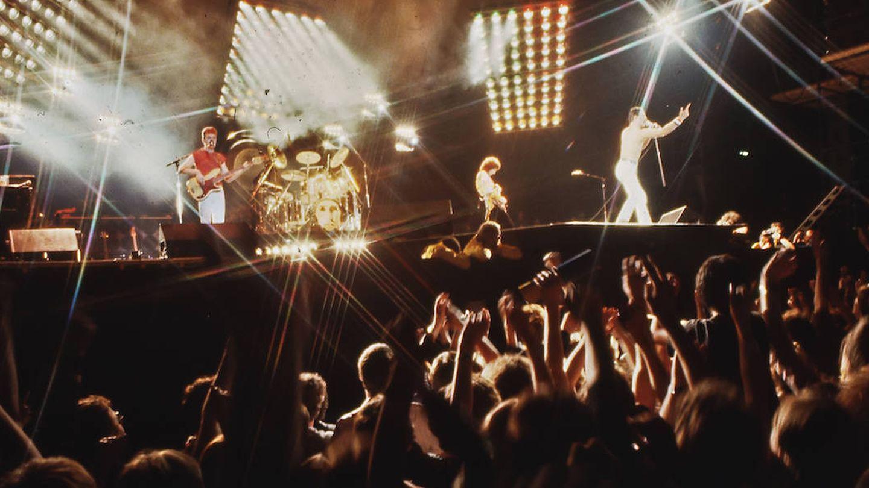 Queen en concierto (Getty)