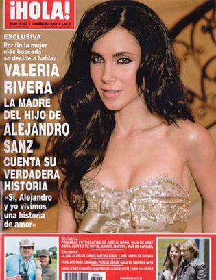 Foto: Valeria Rivera: La novia de Alejandro Sanz es demasiado buena para él