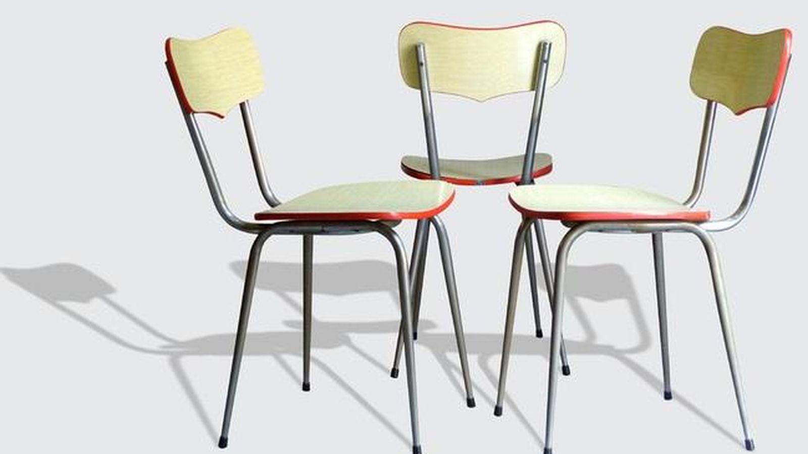 Decoraci n las sillas de formica vuelven para quedarse en for Sillas para empresas