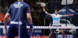 Post de Ale Galán y Pablo Lima, a la final en Valencia en su primer torneo juntos