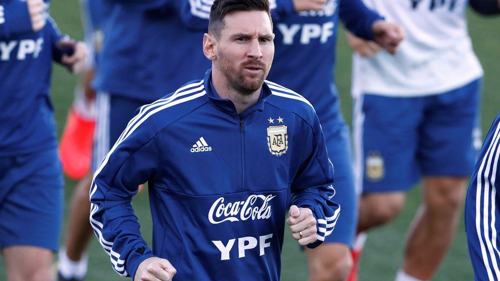 Foto: Messi ha estado concentrado con la selección argentina esta semana en Madrid. (Reuters)