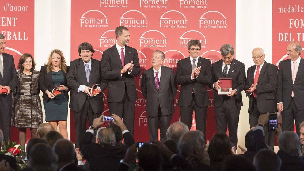 Los empresarios catalanes invitan a Rajoy a su gran acto social a un mes del 21-D