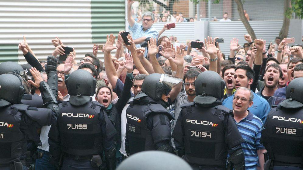 Foto: Jornada del 1-O. (EFE)