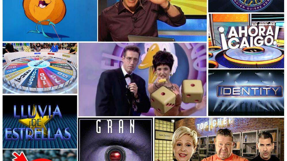 Foto: Imágenes de programas y concursos de televisión.