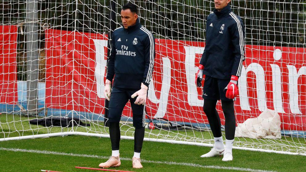 La batalla perdida del ofendido Keylor Navas en el Real Madrid
