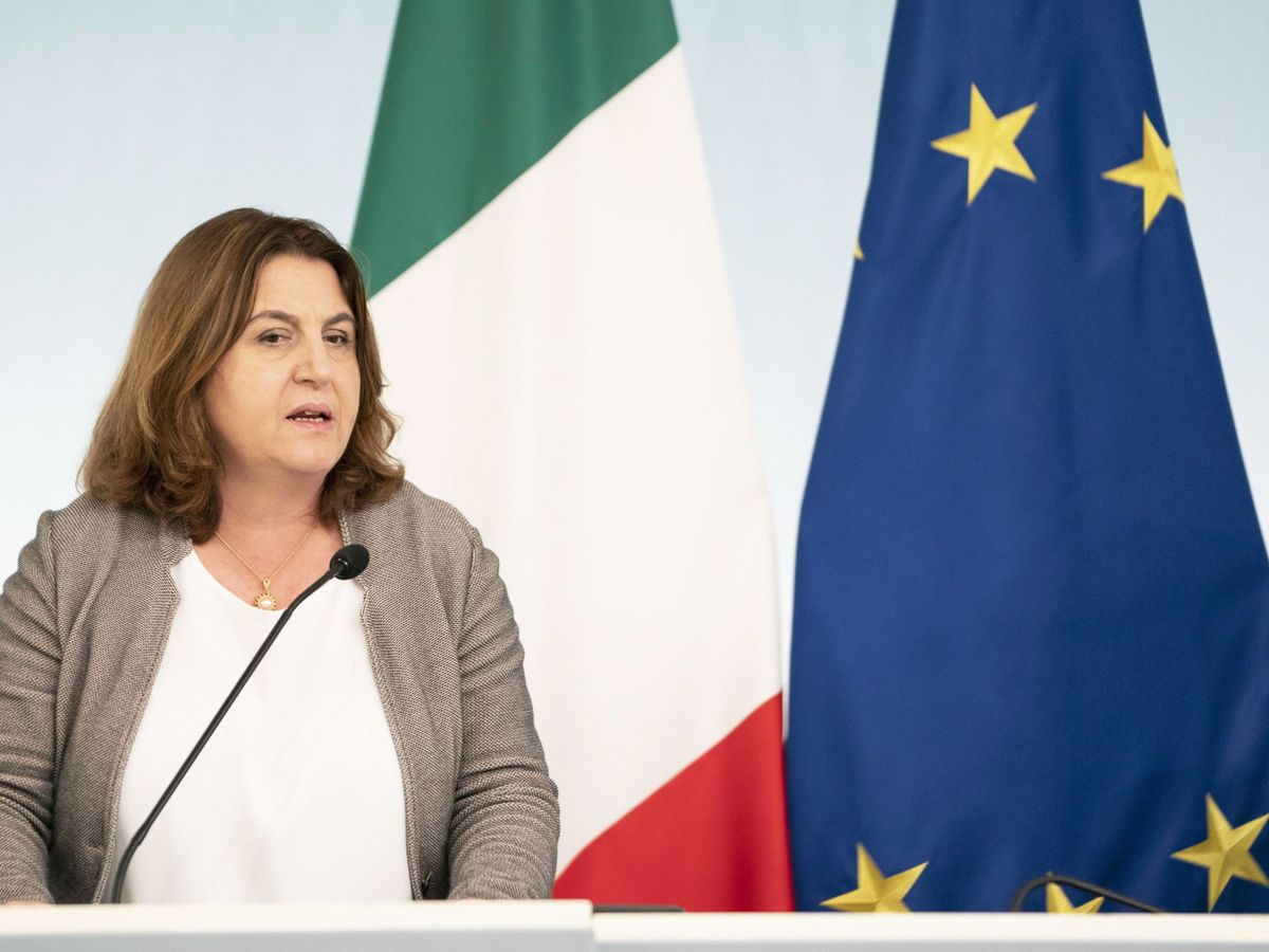 Foto: Nunzia Catalfo, ministra de Trabajo de Italia