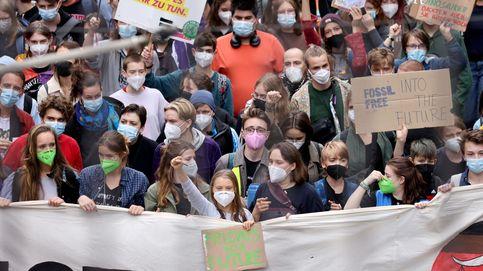 La calle se tiñe de verde, pero los ecologistas no llegarán a la cancillería en Berlín