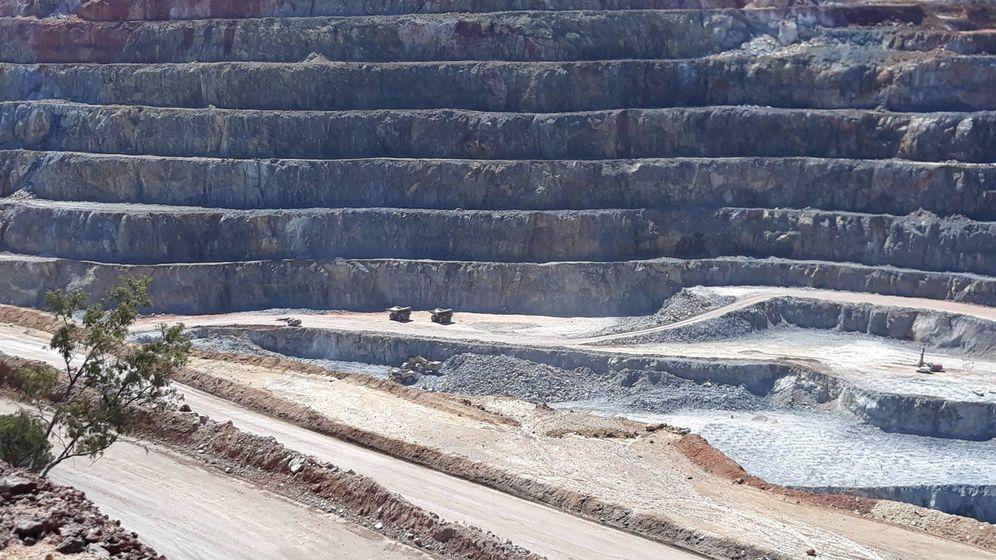 Foto: Corta de la mina de Riotinto, en Huelva. (C. P.)