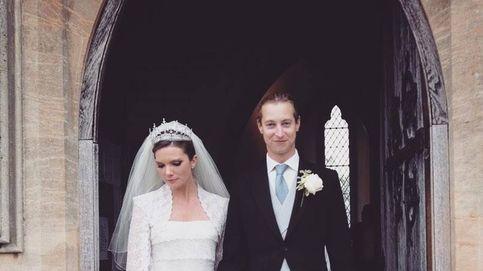 Una tiara para quitar el hipo y un vestido romántico: los detalles de la última boda real