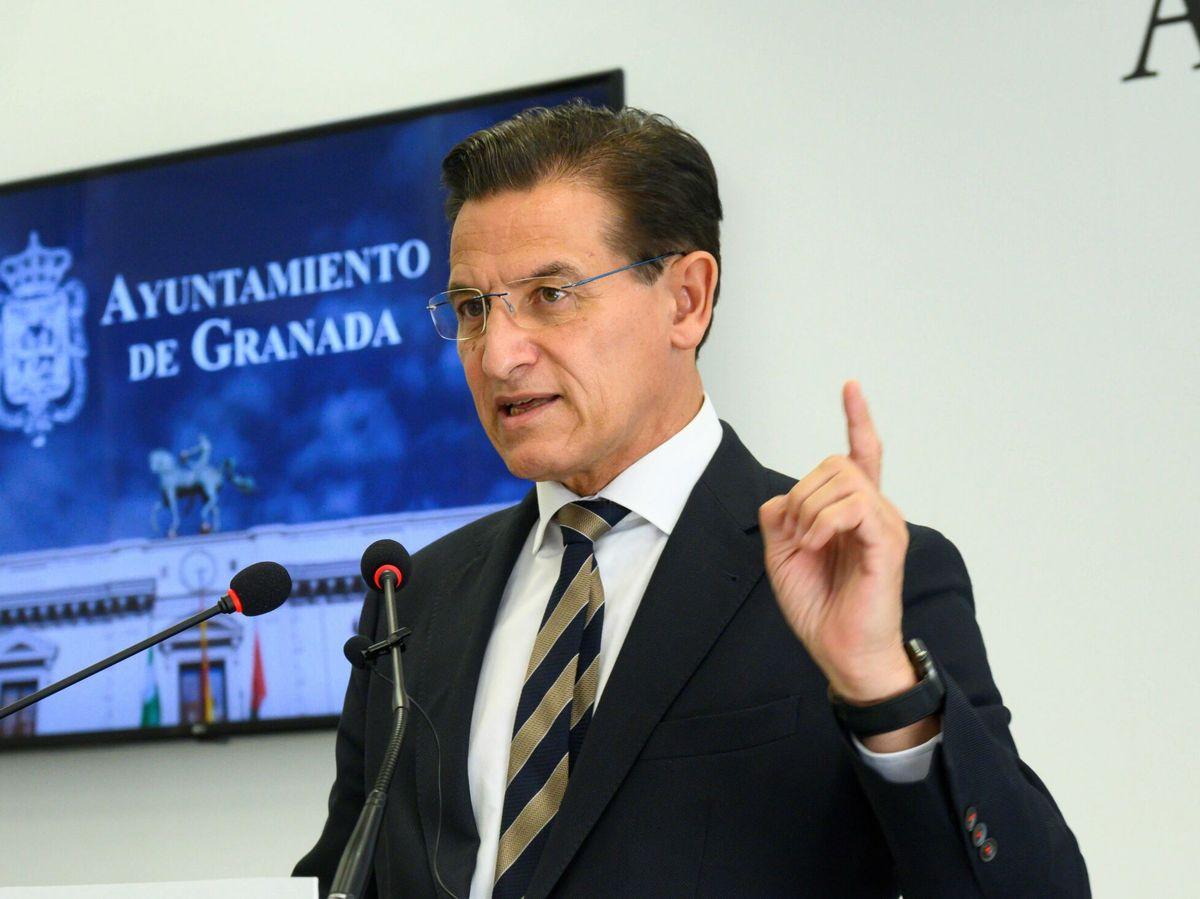 Foto: El alcalde de Granada, Luis Salvador (Cs). (EFE)