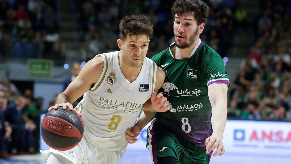 Foto: Laprovittola, en un partido de ACB contra Unicaja. (EFE)