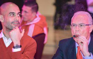Beckenbauer recuerda a Pep que su 'fútbol control' no encaja en Alemania