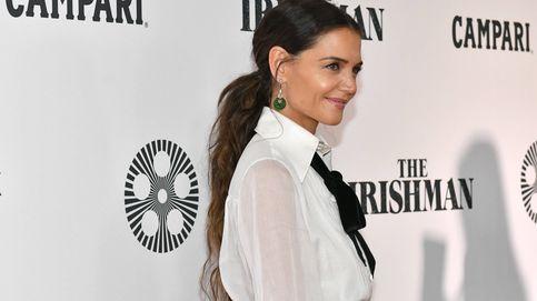 De Katie Holmes a Eva González, las celebs apuestan por el traje blanco