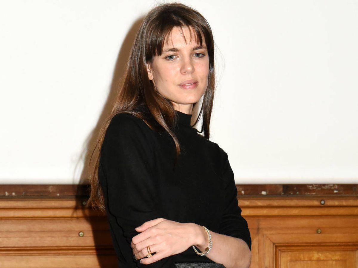 Foto: Carlota Casiraghi reaparece en París. (Getty)