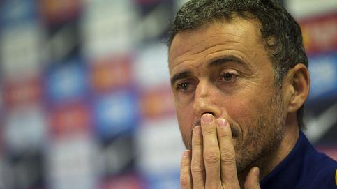 Luis Enrique pide socorro a la grada del Camp Nou de manera desacomplejada